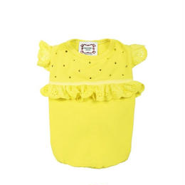 T-SHIRT''ANGIE''  YELLOW