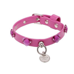 "COLLAR  ""NINI PLUS""   FUCSIA"