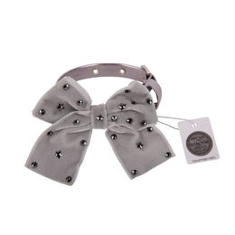 Collar 1.2cm SPARKLING STAR metallic gray