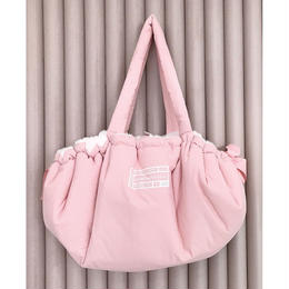 Cloudy Dog Carrier_Pink