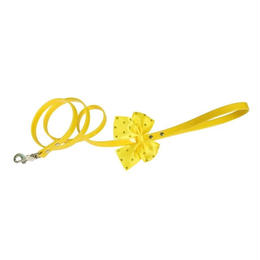 "LEASH  ""JULIE""  YELLOW LEMON"