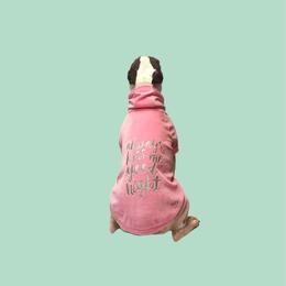 Always Kiss Me Goodnight Sweatshirt  PINK