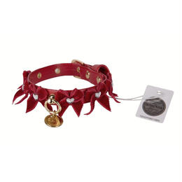Collar 1.2cm LIUBA red