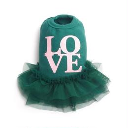 Love tutu Dress_Green