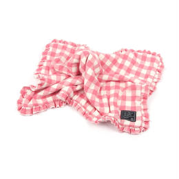 Cheez Check Blanket Pink