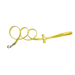 LEASH  ''ELLA''  57-GIALLO LIMONE