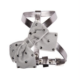 Harness 1.2cm SPARKLING STAR metallic gray