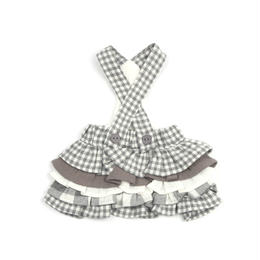 Vanilla Check Dress_Gray
