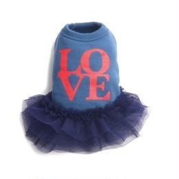 Love tutu Dress_Blue