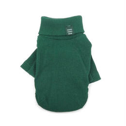 Daily Turtleneck Top  Green