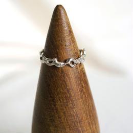 motif ring 3 - silver
