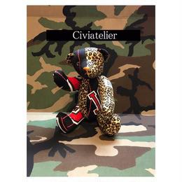 Civiatelier Remake BULLS LEOPARD Teddy Bear シヴィアトリエ-1