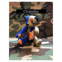 Civiatelier Remake KNICKS CAMO Teddy Bear シヴィアトリエ-2