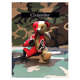 Civiatelier Remake CHICAGO BULLS CAMO Teddy Bear シヴィアトリエ-2