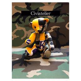 Civiatelier Remake LAKERS CAMO Teddy Bear シヴィアトリエ-1