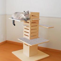 """薬師寺康子さんプロデュース 猫タワー""""snecobaco"""" プチ<送料込>"""