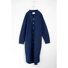 manual alphabet/typewriter dolman one-piece(navy)