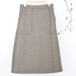 ASEEDONCLOUD handbaker /work skirt(olive)