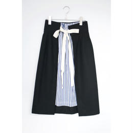 ANITYA/wrap skirt(black)