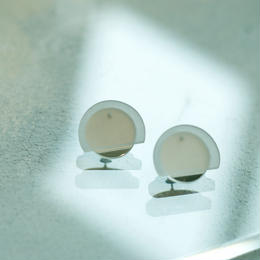 MMAA/oto22 pair pierce(white)