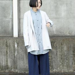 3tsui/fake suspender coat(gray)