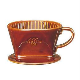 陶器製コーヒードリッパー 101 ロトブラウン 1〜2杯用