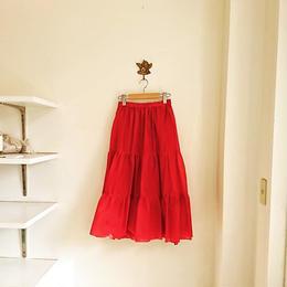 vivid color skirt