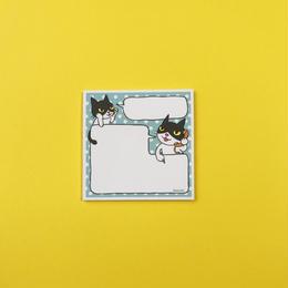 付箋(子猫のつぶちゃん)