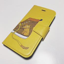 Iphoneケース(ヘリンボーン柄スニーカー)