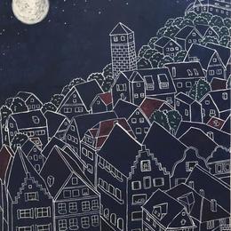 夜はネコの街