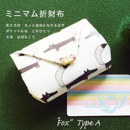 ミニマム折財布 ☆ Fox ☆