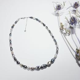 黒蝶真珠 ケシパール(タヒチブラックパール)ネックレス