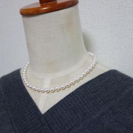 あこや真珠 ネックレス(パールネックレス)