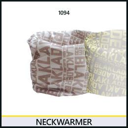 ネックウォーマー ホワイト/グレー 9083-1094