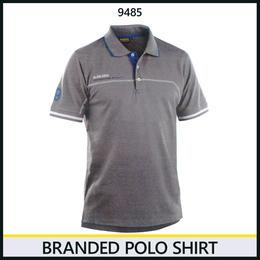ブランドロゴポロシャツ グレー/コーンフラワーブルー 3327-9485