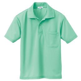 半袖ポロシャツ(男女兼用) ミントグリーン 10579-005