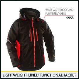 ライトウェイトジャケット ブラック/オレンジ 4890-9955