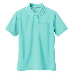 レディース半袖ポロシャツ ミント 10589-135