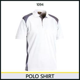 ポロシャツ ホワイト/グレー 3324-1094