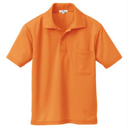 半袖ポロシャツ(男女兼用)  オレンジ 10579-063