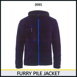 パイルジャケット ネイビーブルー/コーンフラワーブルー 8218-8985