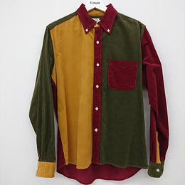 Che-St SHARKEY'S マルチコットン ボタンダウンシャツ(149)