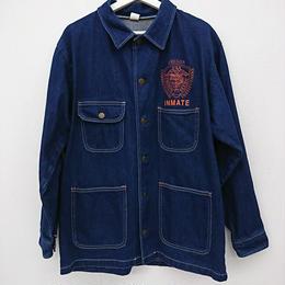PRISON BLUES ワークデニムシャツ(129)