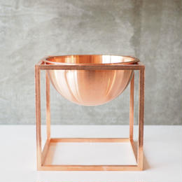 Kubus Bowl Small / Copper【by lassen】