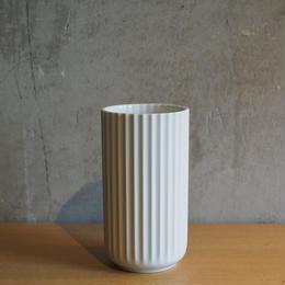 フラワーベース 15cm / ホワイト【Lyngby】