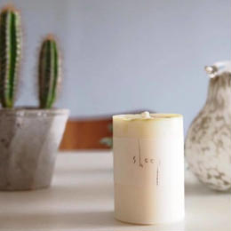 SOY CANDLE /EARL GREY 【SHEEP】SS