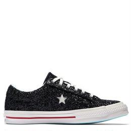 CHIARA FERRAGNI ONE STAR GLITTER BLACK 562024C