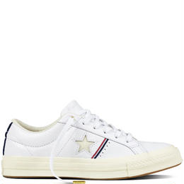 ONE STAR OX WHITE LEATHER 159694C