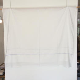 <unisex>niki toto(ニキトト) カディコットン マルチカバー /ブルーライン