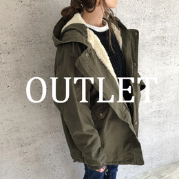 【OUTLET】裏ボアドルマンモッズコート